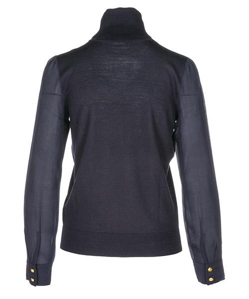 Dolcevita collo alto maglione maglia donna liz secondary image