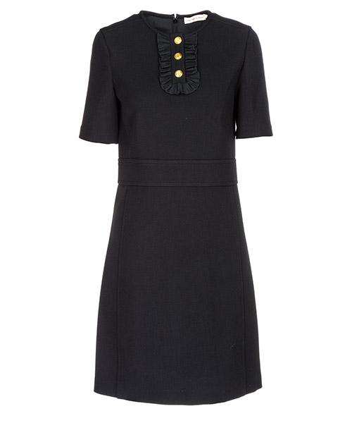 Women's knee length dress short sleeve secondary image