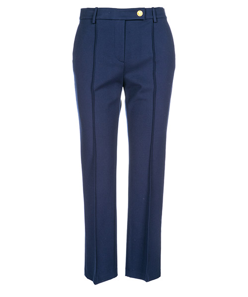 Trousers Tory Burch Sara 51474 405 blu