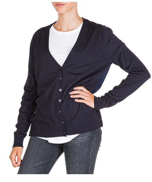 Cardigan Tory Burch 55779 409 medium navy