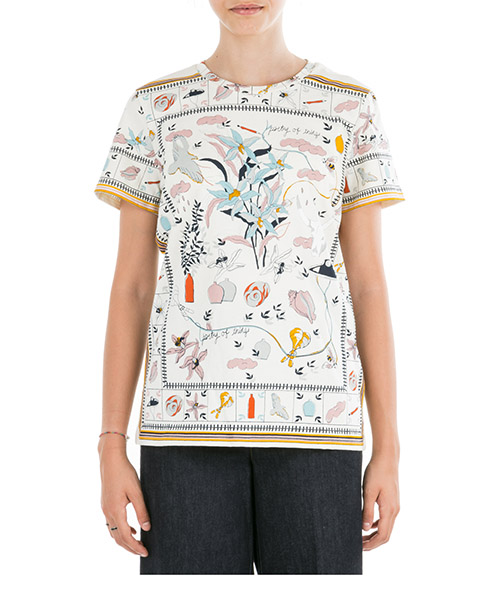 T-shirt Tory Burch 56581 978 poetry of things