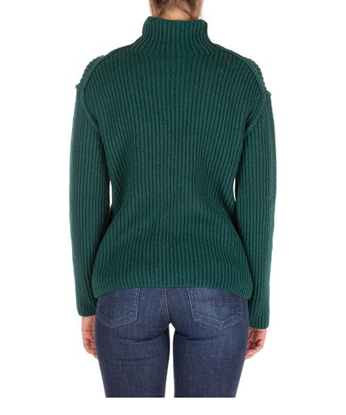 Dolcevita collo alto maglione maglia donna secondary image