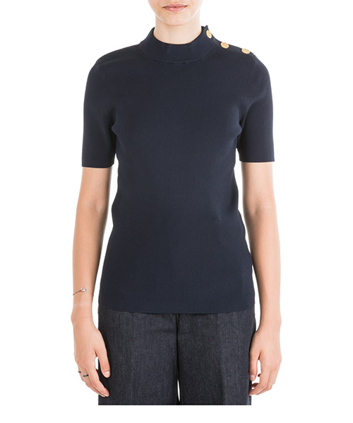 T-shirt Tory Burch 58489 405 blu