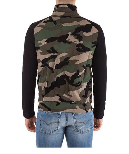 Herren sweatshirt mit zip secondary image