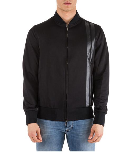Sweatshirt mit Zip Valentino PV0CI0Q54YS 0NO nero