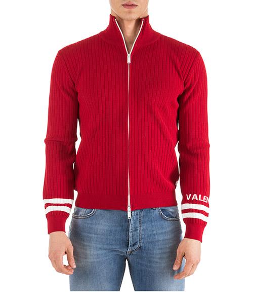 Cardigan Valentino PV0KE03P52D 157 rosso
