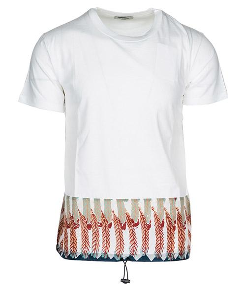 T-shirt Valentino PV0MG11B51P 01G bianco