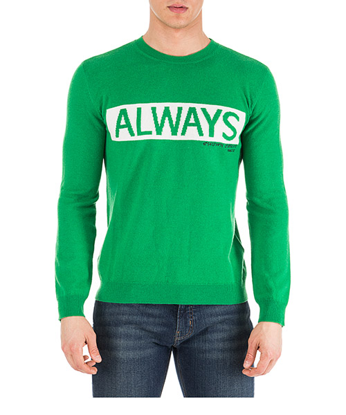 Pullover Valentino Always PV3KC24A4U4 QA1 verde