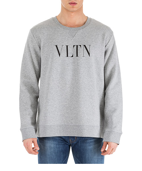 Sweat Valentino QV0MF10G3TV 080 grigio