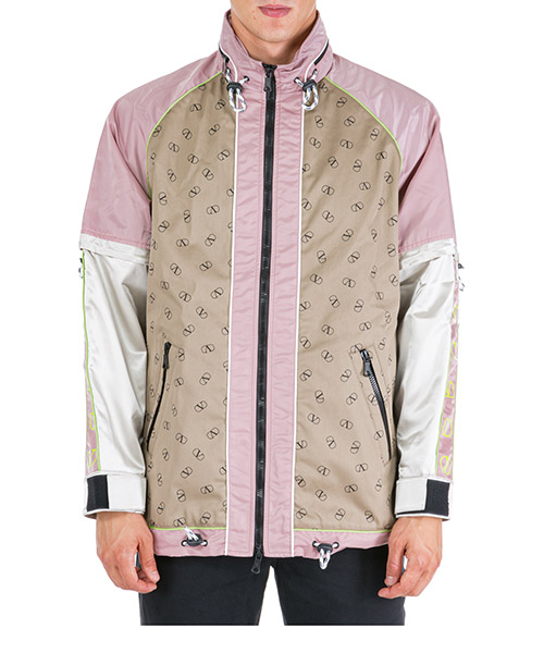 Jacket Valentino VLOGO RV0CJB60BIA E21 beige