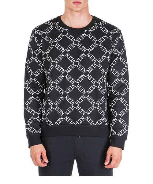 Sweatshirt Valentino VLTN RV0MF03CGKS 0NI nero
