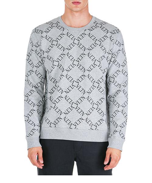 Sweatshirt Valentino VLTN RV0MF03CGKS L80 grigio