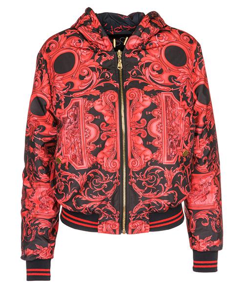 Blouson Versace A77087A226373A7384 rosso