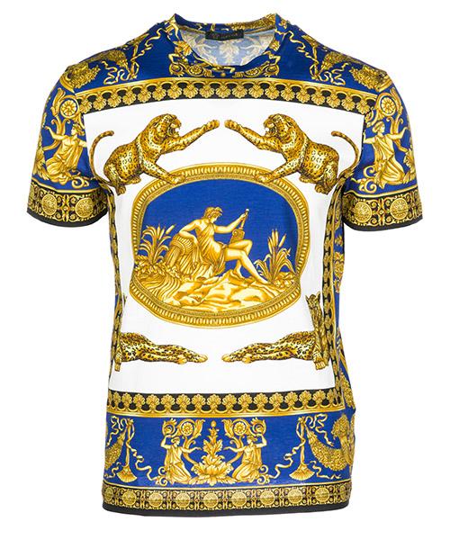T-shirt Versace Dea A77276A226476A741 giallo