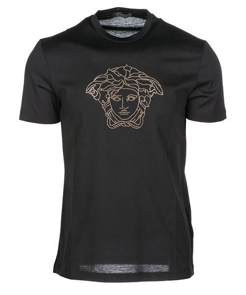 T-shirt Versace Medusa Icon A77532A201952A008 nero