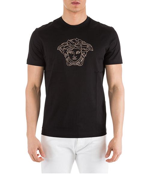 T-shirt Versace Medusa A77532-A201952_A008 nero
