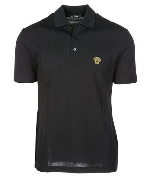 Polo t-shirt Versace A77534A223004A92Y nero