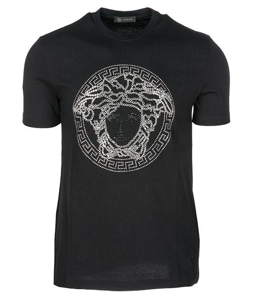 T-shirt Versace Medusa Icon A78902A224620A946 nero