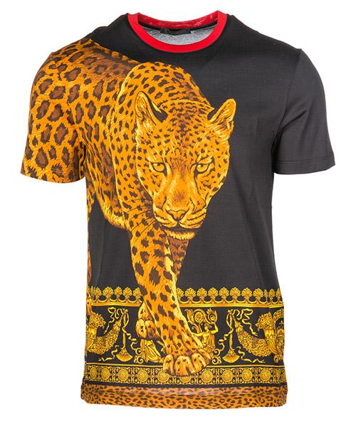 T-shirt Versace A79334A227331A708 nero