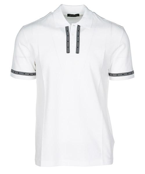 Polo t-shirt Versace A79784A226263A001 bianco