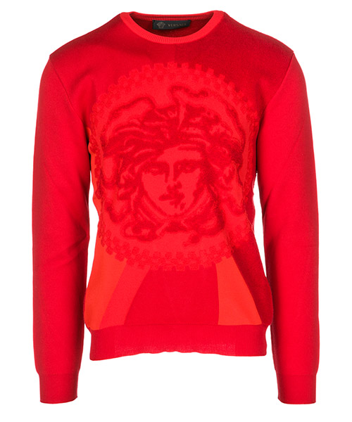 Pullover Versace A79786A225888A041 rosso