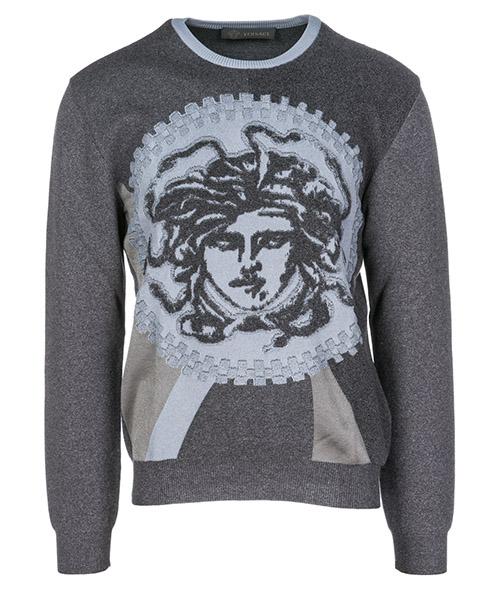 Maglione Versace Medusa Icon A79786A225888A610 grigio
