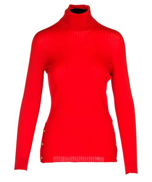 Maglione collo alto Versace A80350A226328A1207 rosso