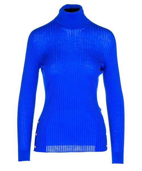 Maglione collo alto Versace A80350A226328A1343 blu