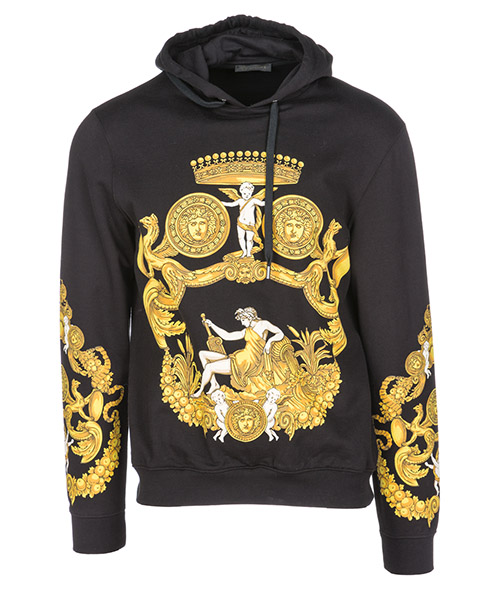 Hoodie Versace Medusa Icon A80469A219529A708 nero