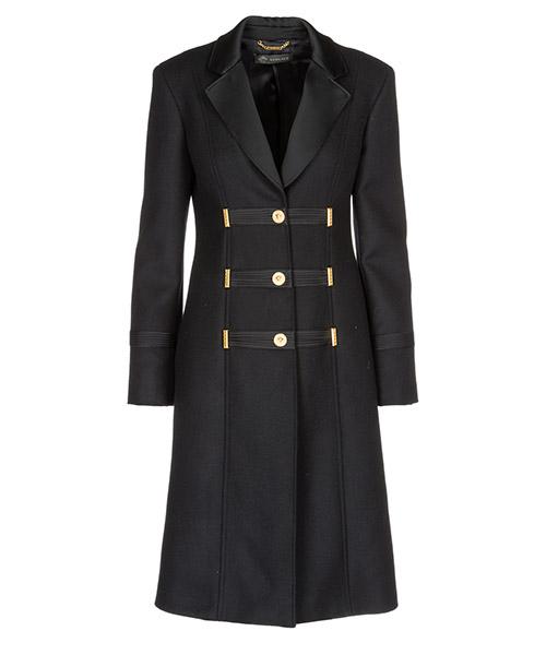 Cappotto Versace A80530A108037A1008 nero