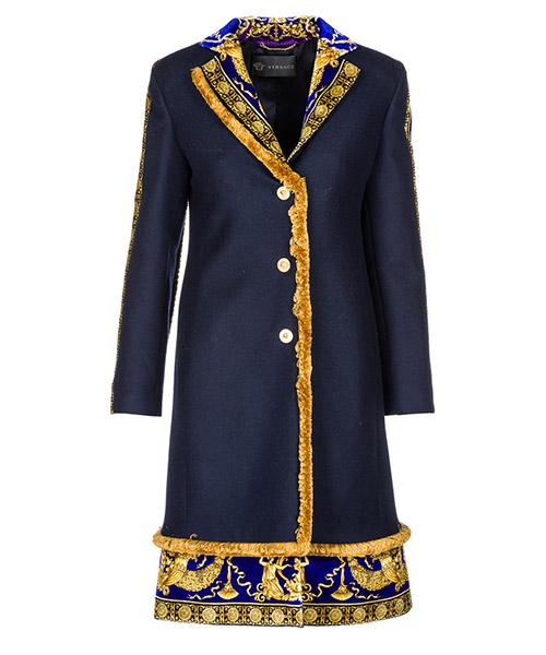 Coat Versace A80578-A108037_A1384 blu