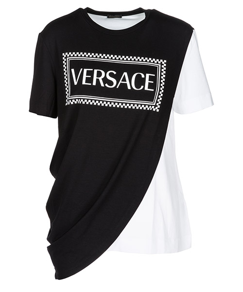 T-shirt Versace A80983A213311A3107 black - white