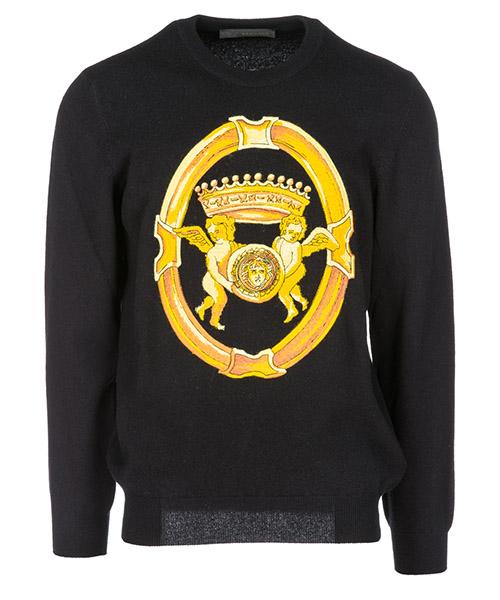 Maglione Versace A80986A226978A008 nero