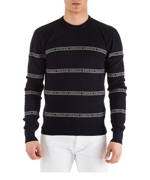 Pullover Versace A81366-A228043_A144 blu
