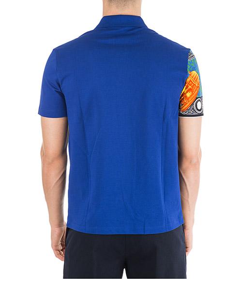 Men's short sleeve t-shirt polo collar grecia secondary image