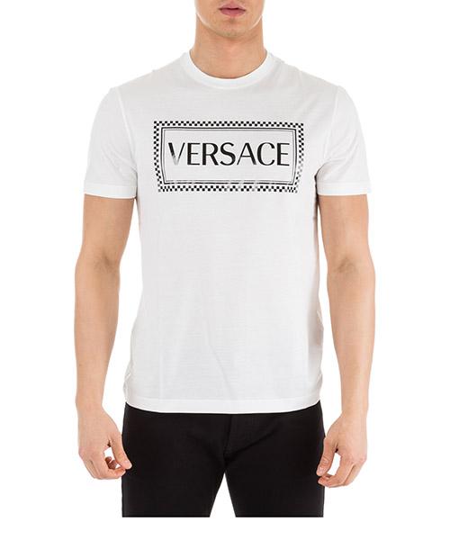 T-shirt Versace A81548-A201952_A001 bianco