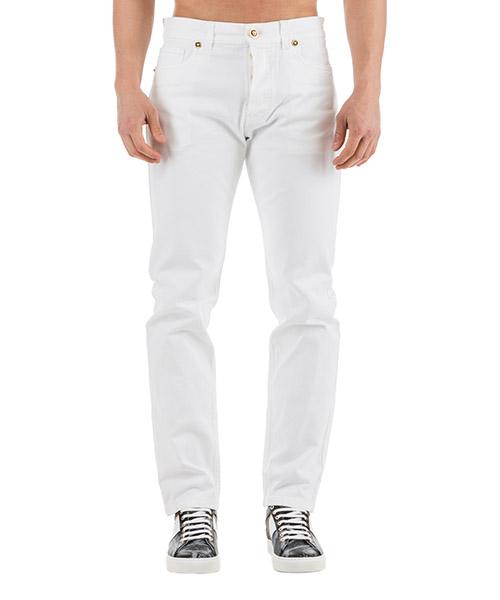 Jeans Versace A81828-A228578_A081 bianco