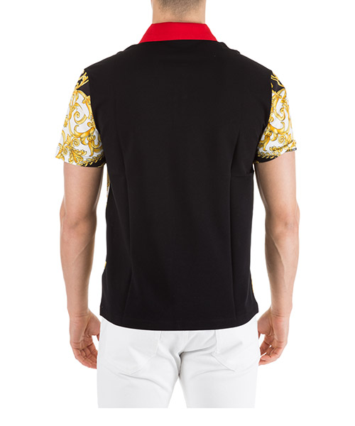 T-shirt manches courtes col polo homme hibiscus secondary image