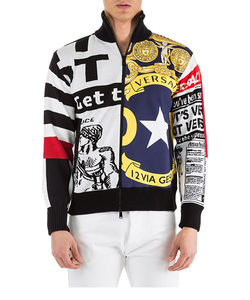 Pull Versace A81979-A228354_A707 bianco