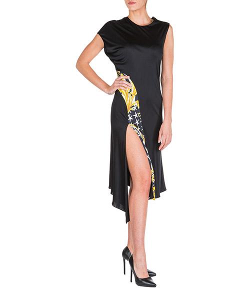 Knielange Kleider Versace savage barocco a83196-a231033_a7900 nero