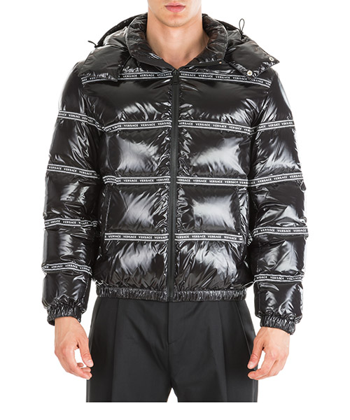 Down jacket Versace A83458-A230458_A008 nero