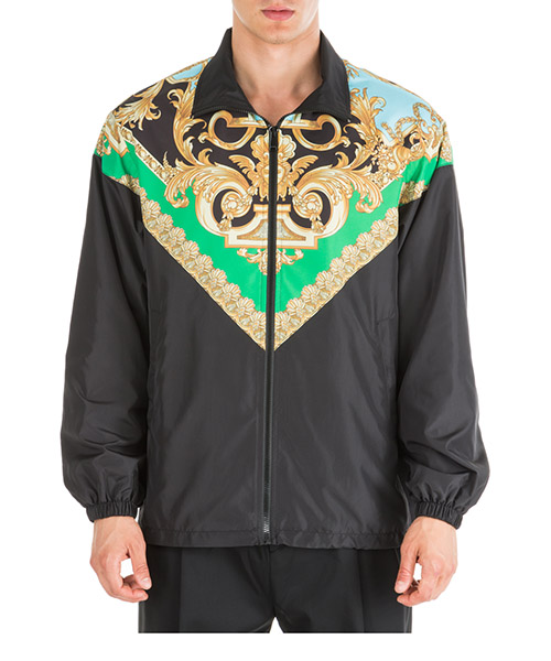 Верхняя одежда блузон Versace Barocco Homme A83681-A231421_A78Y nero
