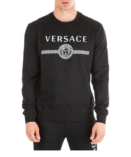 Фуфайка Versace medusa a83867-a231242_a008 nero