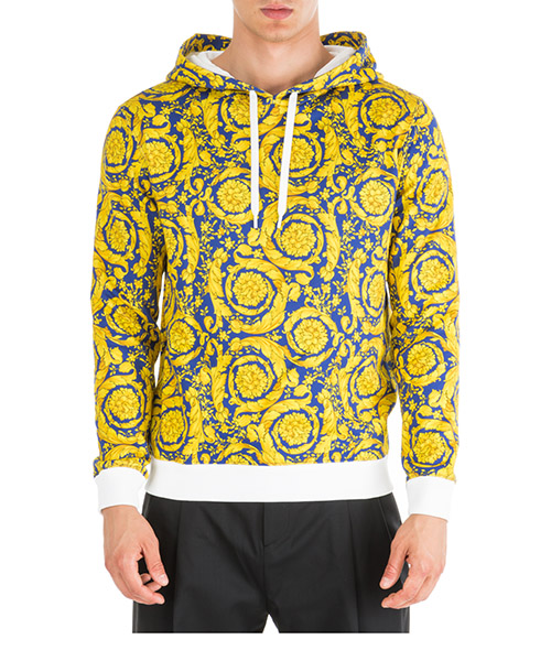 Hoodie Versace A83870-A231059_A70W giallo