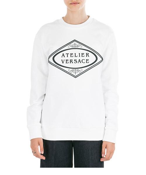 Sweatshirt Versace A83930-A227994_A2048 bianco