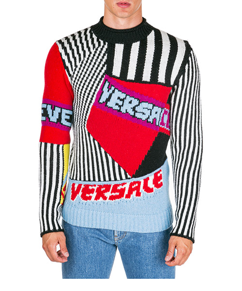 Pullover Versace A84072-A230828_A46X bianco