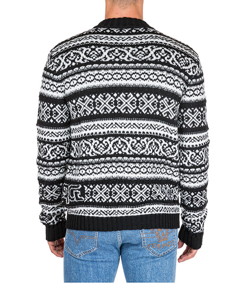 Men's jumper sweater cardigan secondary image