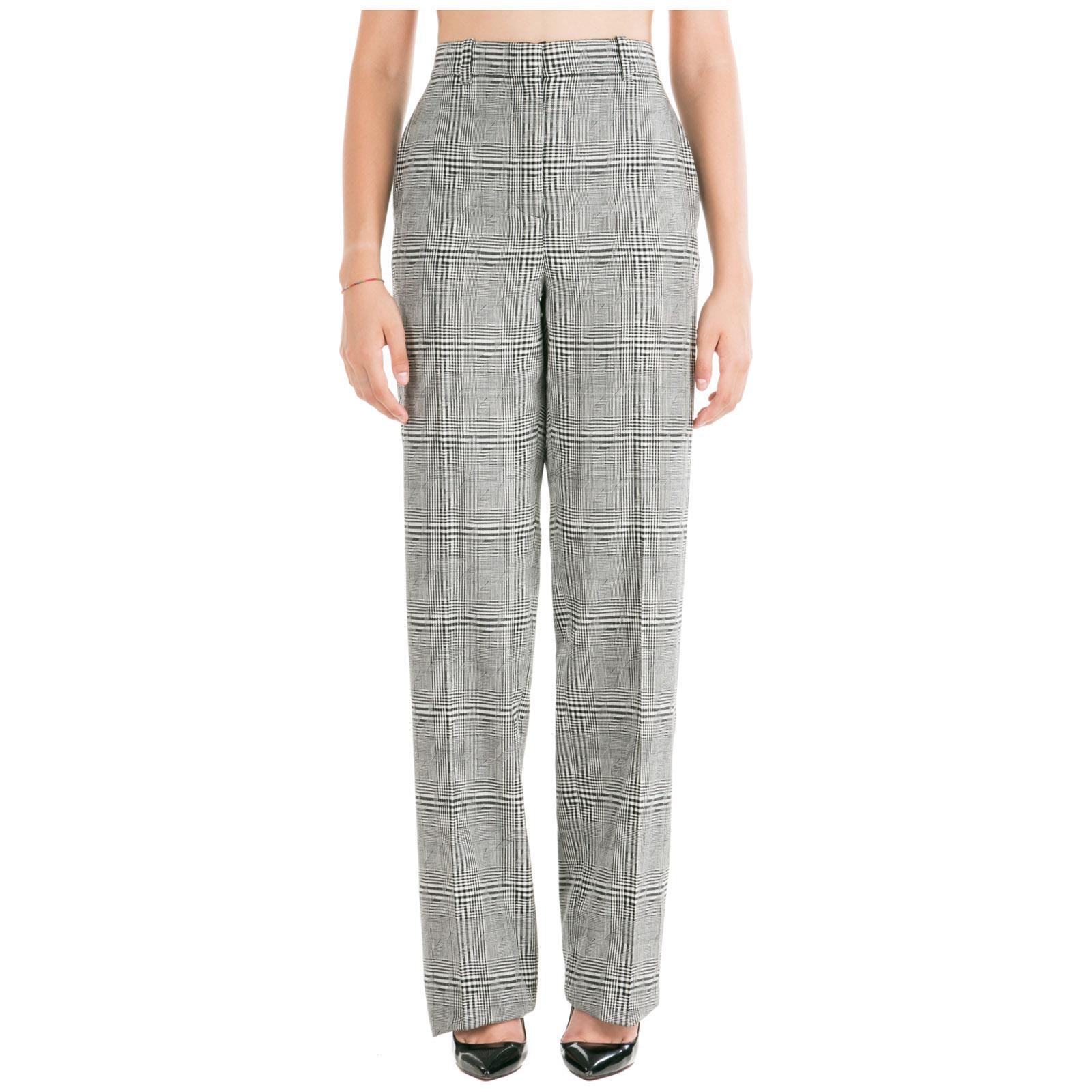 Versace Women's Trousers Pants In Grey