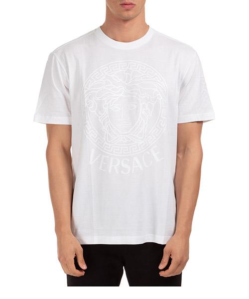 T-shirt Versace a85172-a228806_a1001 bianco