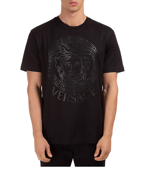 T-shirt Versace medusa a85172a228806a1008 nero